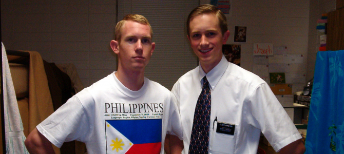 1st Day in the Missionary Training Center (Wednesday, May 19, 2004)