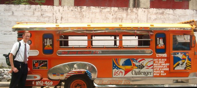 Records and Tagalog and a really cool jeepney!