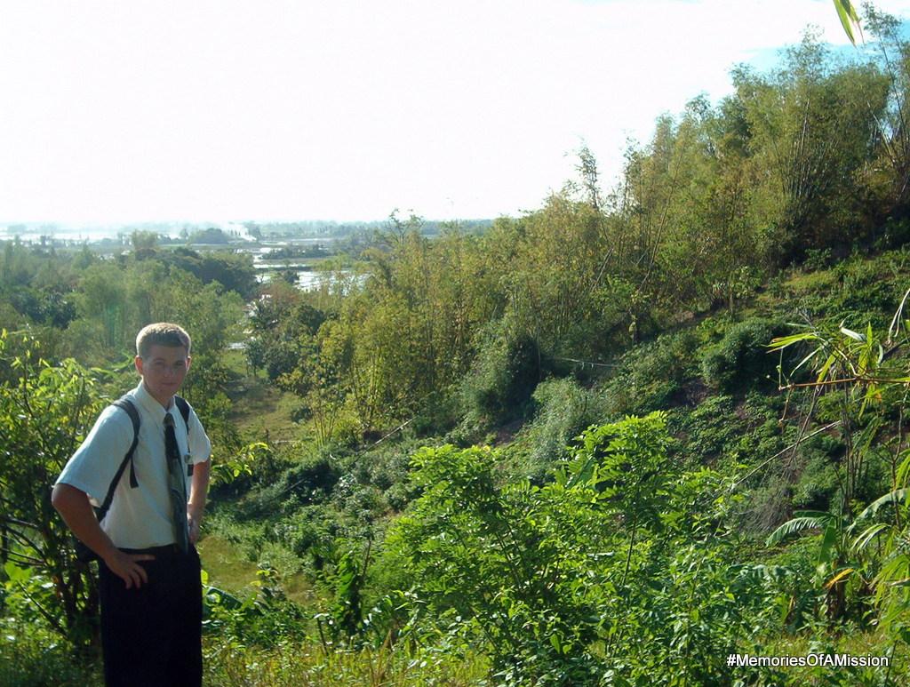 Elder Cox on the mountain