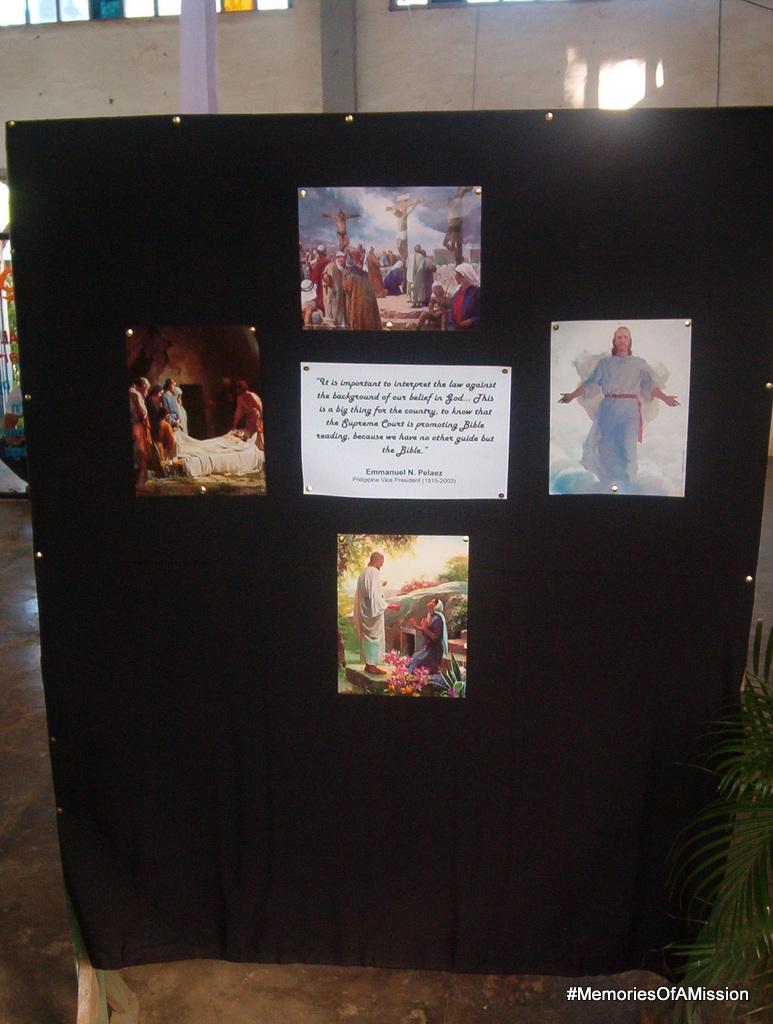 The bible display