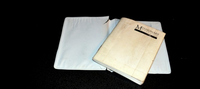 What I carry in my white book