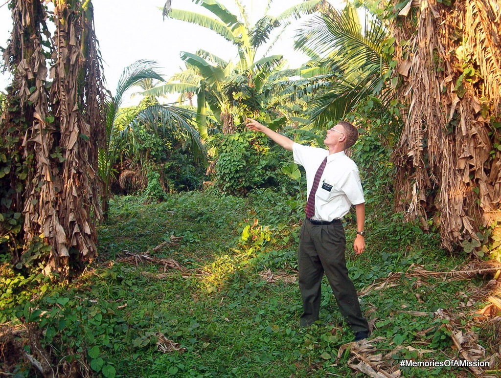 Elder Durrant in the jungle