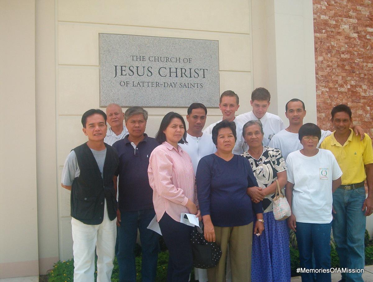 Alfonso Branch at Jun's Baptism